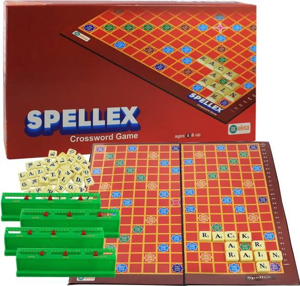 Ekta Spellex Crossword Game Word Games Board Game