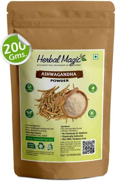 Herbal Magic Pure Organic Ashwagandha Powder