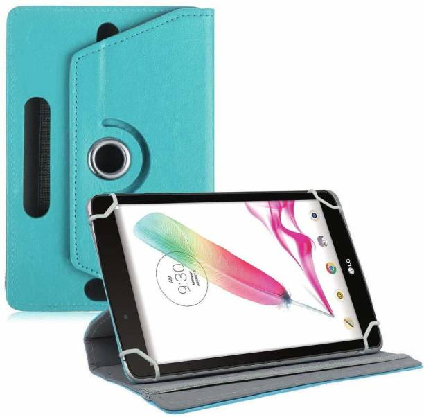 TGK Book Cover for LG G Pad F Tablet 8 inch Rotating Leather Stand Case