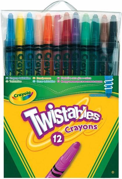 CRAYOLA 12 Twistable Crayons