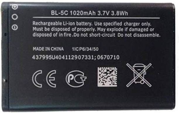 Mobiaspire Mobile Battery For  Nokia 1100 1101 1110 1110i 1112 1200 1208 1209 1600 1650 1255 1108 1680C 1315 2300 2310 2600 2610 2626 2280 2355 2112 2118 2255 2270 2280 2285 2275 2272 3100 3120 3660 3109 Classic 3110 Classic 3110 Evolve 3600 3610 Fold 3650 3105 3125 3620 3555 3109 6030 6085 Nokia