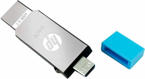 HP x302m 64 GB Pen Drive