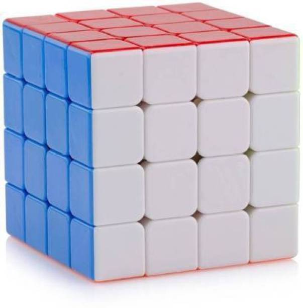 AR KIDS TOYS High Speed Stickerless 4x4 Magic Cube Puzzle Game Toy