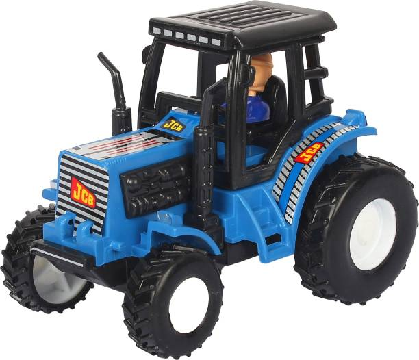 Shinsei Pull Back Tractor | No Battery No Remote | Miniature Scaled Models | Dinky Cars