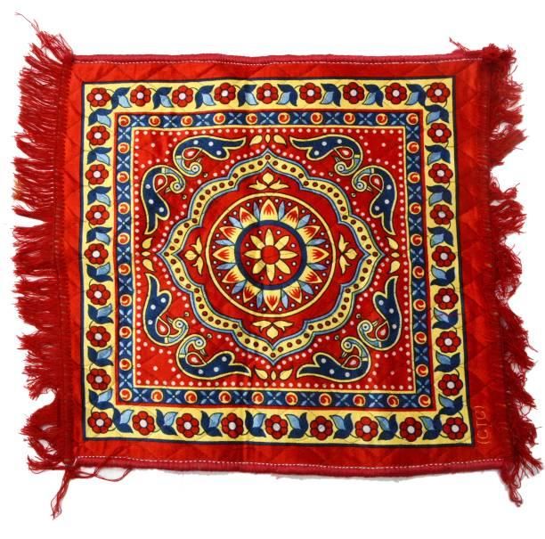 Shree Poojan Hindu prayer mat Altar Cloth