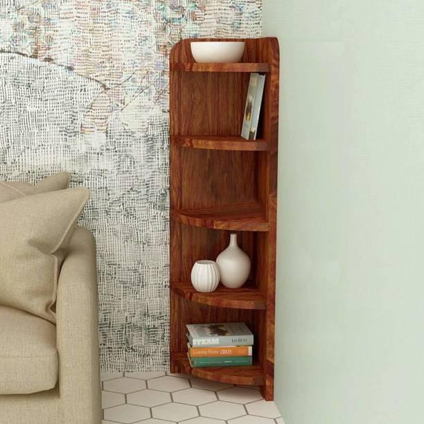 Kendalwood Furniture Solid Wood Open Book Shelf