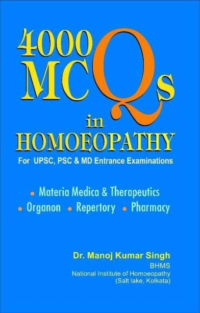 4000 MCQs in Homoeopathy
