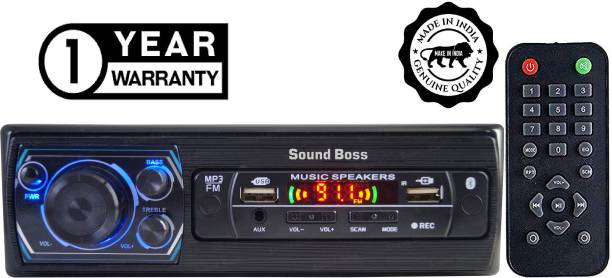 Sound Boss DOUBLE FM/USB/BLUETOOTH/SD/AUX/MP3 Charge pro+ Car Stereo