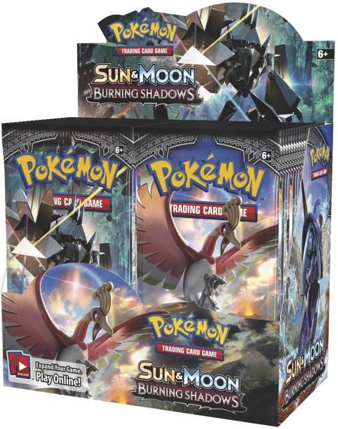AncientKart Pokemon Sun & Moon Burning Shadows Booster Box