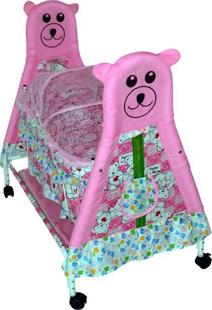 Childcraft Child Craft Newest Design & Color Variant Baby Crib Teddy Face Bessinet Bassinet