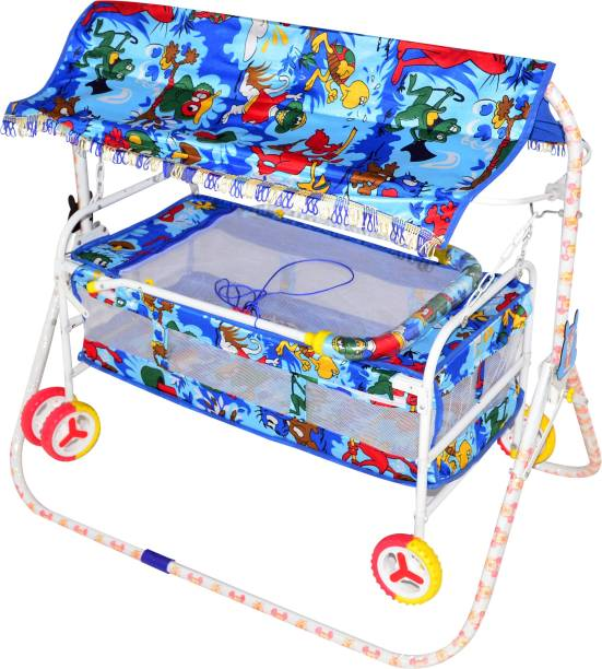 Childcraft Child Craft Introducing New Cradle in Jungle Print with Cartoons Bassinet