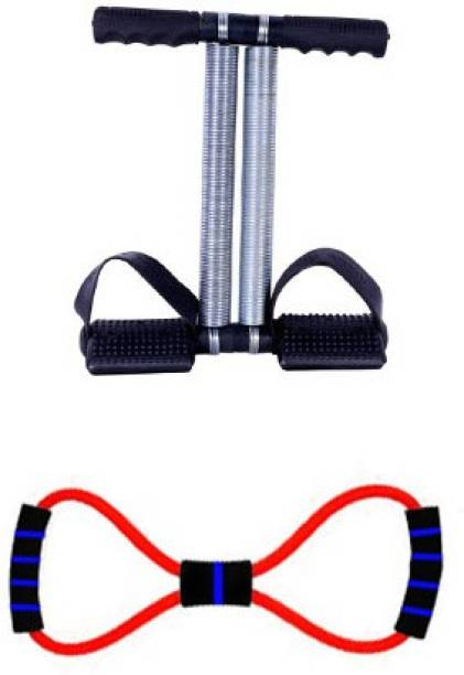 INSTAFIT DOUBLE SPRING TUMMY TRIMMER WITH RUBBER STRETCHING Home Gym Kit