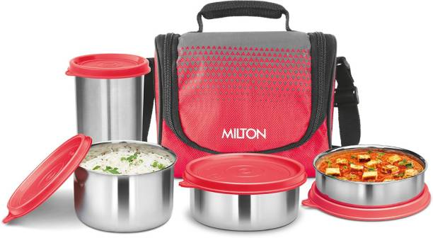 MILTON Tasty Lunch 3 Combo 4 Containers Lunch Box