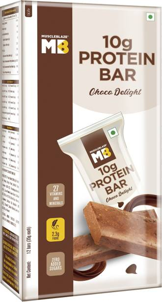 MUSCLEBLAZE 10g Protein Bar Protein Bars