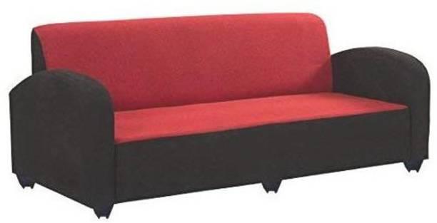 Mofi sofas Fabric 3 + 1 + 1 RED Sofa Set