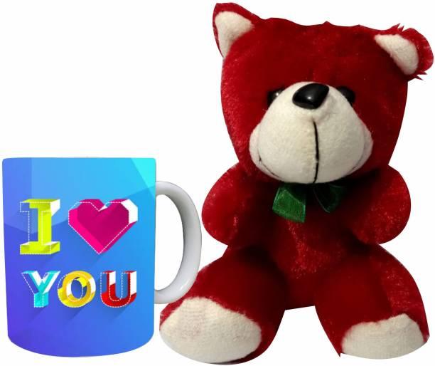 Decor Production Soft Toy, Mug Gift Set