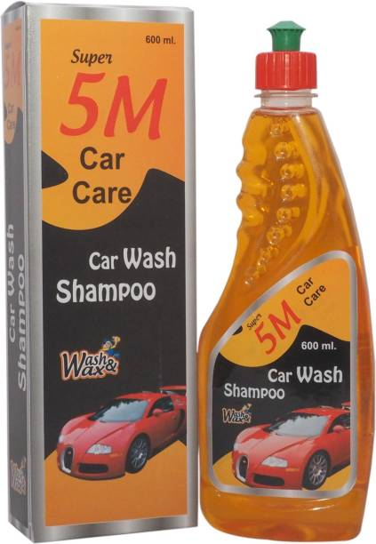 SUPER 5M Car Care Car Wash Shampoo 5M001C Car Washing Shampoo 600 ML Car Washing Liquid