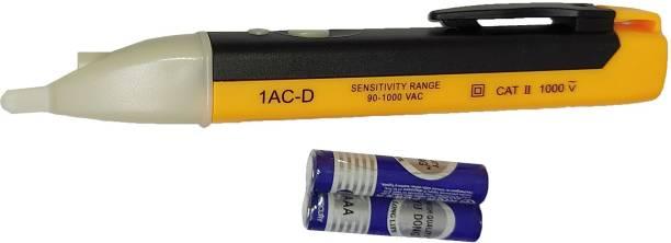 INDITRUST Voltage Alert Touch Less Voltage Detector Tester Pen AC 90~1000V and Electrical Analog Voltage Tester