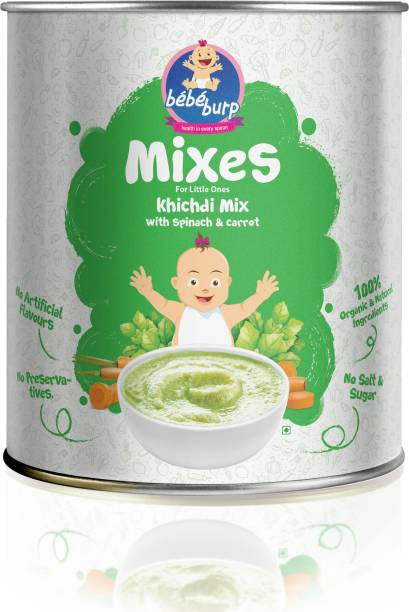 bebe burp Khichdi Mix With Spinach & Carrot Cereal