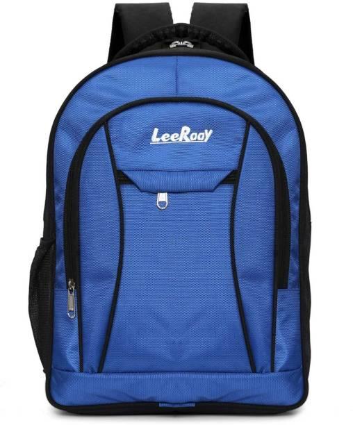 LeeRooy BG0B 3 BLUE Waterproof School Bag