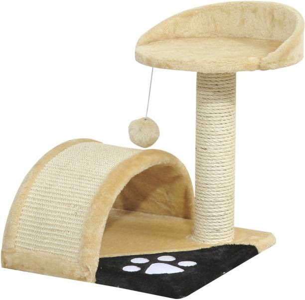Foodie Puppies Cat Scratching Tree