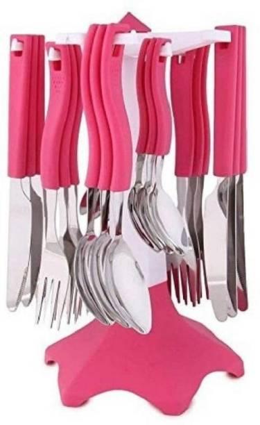 PRAMUKH Premium Disposable Plastic Cutlery Set
