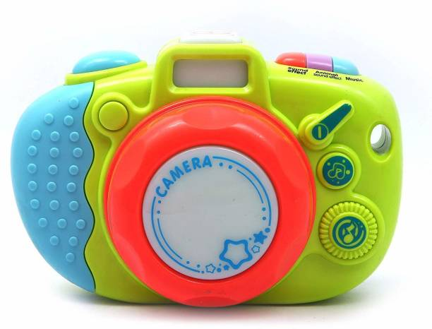 Sanchi Creation Colorful Cute Electronic Music Camera with Sound & Light for Children Photography
