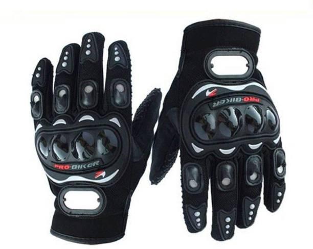 Probiker Full Finger Gloves For Riders,Bikers Black-N7452K42 Riding driving Gloves (Black) Riding Gloves