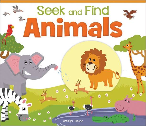 Seek and Find - Animals - By Miss & Chief
