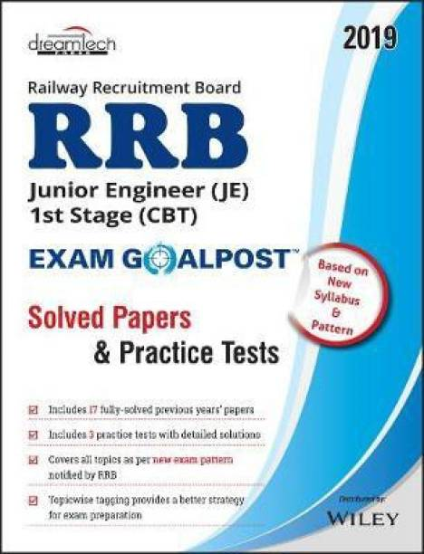 Rrb Junior Engineer (Je) 1st Stage (CBT) Exam Goalpost, Solved Papers & Practice Tests First Edition