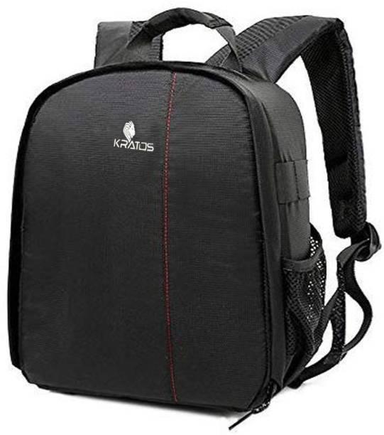 Kratos DSLR Backpack Camera Bag with Rain Cover  Camera Bag