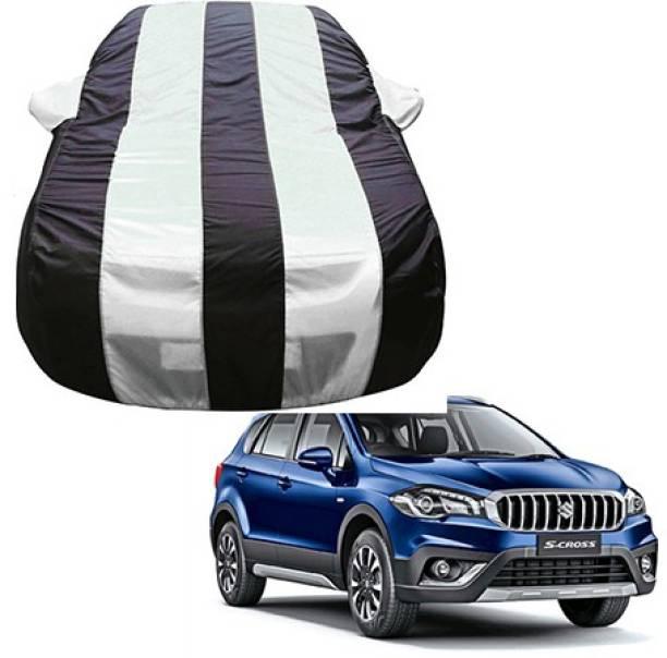 Flipkart SmartBuy Car Cover For Maruti Suzuki S-Cross (With Mirror Pockets)