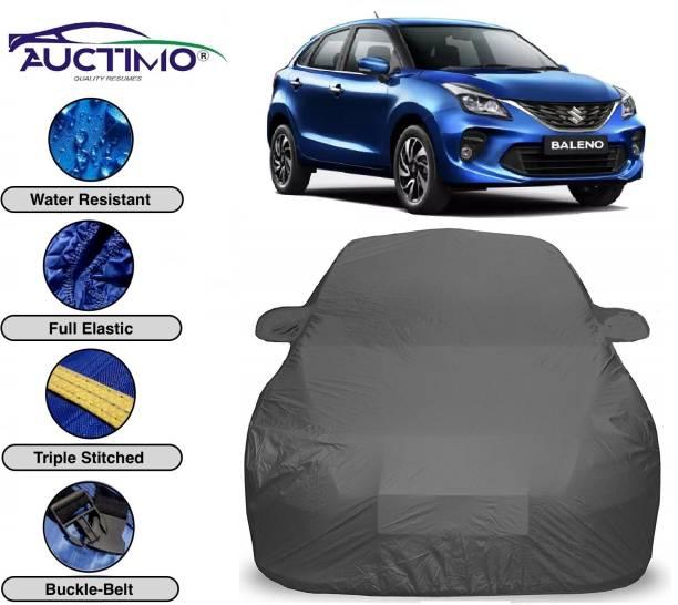 AUCTIMO Car Cover For Maruti Suzuki Baleno (With Mirror Pockets)