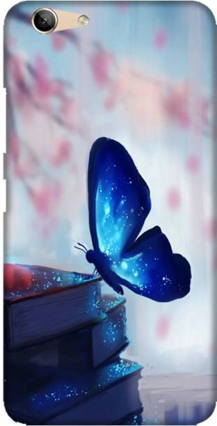 LEEMARA Back Cover for Lenovo vibe K5 Plus ,A6020a46 - Butterfly, Printed Back Cover