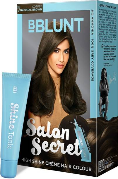 BBlunt Salon Secret High Shine Creme , Coffee Natural Brown 4.31