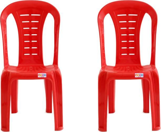 AVRO furniture 1103 MATT AND GLOSS ARMLESS Plastic Cafeteria Chair