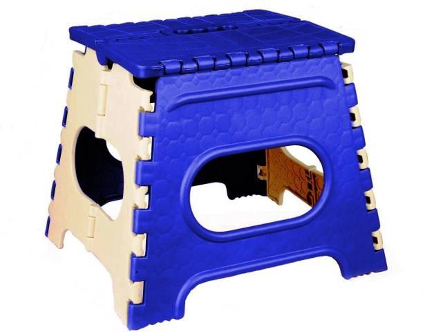 LACOPINE 12 Inch Lightweight Plastic Folding Step Stool Living & Bedroom Stool