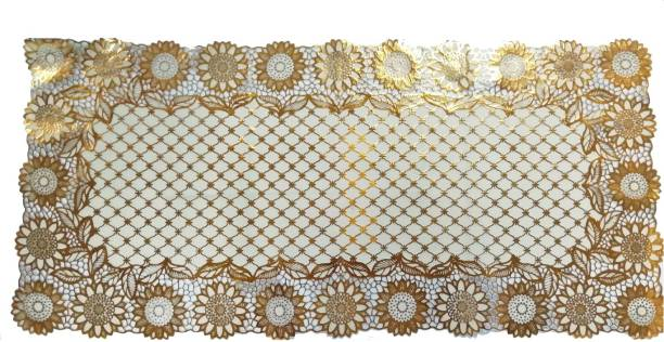 SHIVAYE COLLECTION Gold 80 cm Table Runner