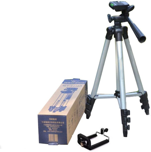 Mini Tripod with telescopic legs and 1//4 screw and adjustable ball head AAB Cooling Selfie Tripod