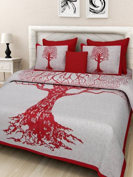 Stycloth 234 TC Cotton Double Printed Bedsheet