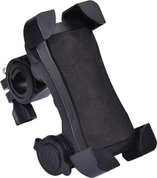 MoveOn Universal X-Grip Mobile Phone Holder Bike Mobile Holder For Pulsar 220F Bike Mobile Holder