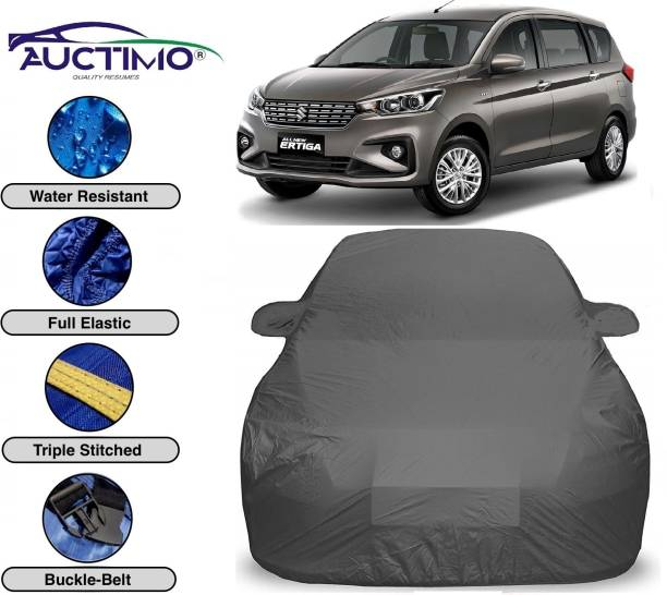 AUCTIMO Car Cover For Maruti Suzuki Ertiga (With Mirror Pockets)