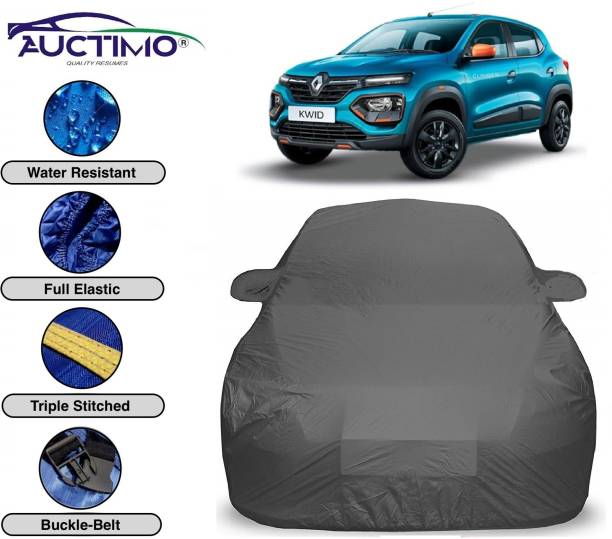 AUCTIMO Car Cover For Renault Kwid (With Mirror Pockets)
