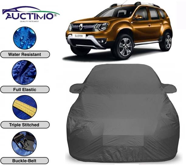 AUCTIMO Car Cover For Renault Duster (With Mirror Pockets)