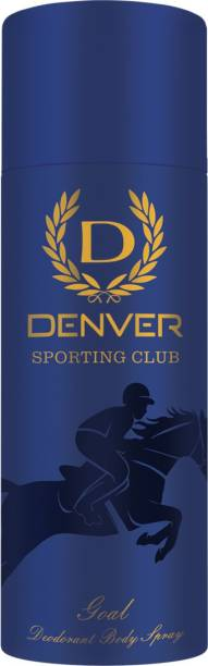 DENVER Sporting Club - Goal Deodorant Spray  -  For Men