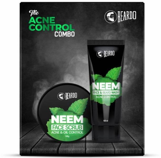 BEARDO The Acne Control Neem Gift Set for Men