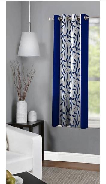 Achintya 153 cm (5 ft) Polyester Window Curtain Single Curtain