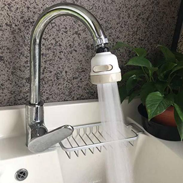 ShoppoStreet SS-1562 Water Saving 360 Degree Movable Faucet Aerator, Water-Saving Sprinkler and Device Head, Three-Gear Adjustable Head Nozzle, Water saving Shower Faucet, Nozzle Cock Faucet