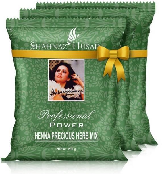 Shahnaz Husain Henna Herb Mix Combo (200gm x 3)
