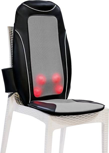 JSB HF41 Full Back Massager for Pain Relief with Kneading, Heat and Seat Vibration Massager